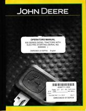 John Deere 830 Series Diesel Tractors with Electric Start Operator's Manual