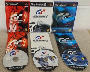 Gran Turismo 3,4 & Concept 2002 (PlayStation 2) VGC