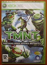 TMNT Tortugas Ninja Jóvenes Mutantes, Xbox 360 Pal-España ¡¡NUEVO A ESTRENAR!!