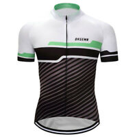 Men's Cycling Jersey Short Sleeve Bicycle Bike Women Man Breathable Shirts Sport