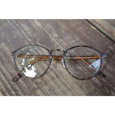 1920s Vintage Oilver Retro Round Eyeglasses metal 94R72 TGS Frames eyewear ruby