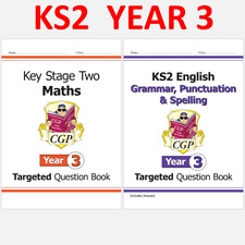 More details for ks2 year 3 targeted question books maths and english with answer cgp