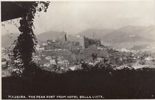 MADEIRA :The Peak Fort from Hotel Bella Vista RP