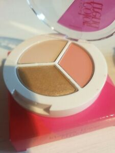 Avon ColourTrend Trio Eyeshadow X2 Shade: Blossom Flower Coral Gold Nude NEW!!