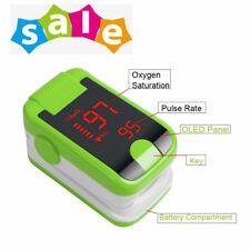 LED SpO2 Monitor Heart Rate Meter Sensor Finger Tip Pulse Oximeter Blood Oxygen