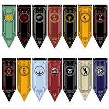 Game of Thrones House Stark Targaryen Banner Wall Hanging Flag Decor 48 X 150CM
