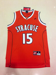 Carmelo Anthony #15 Syracuse College Basketball Jersey Men's - Sizes : S-4XL