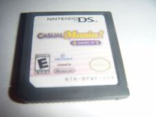 Casual Mania 4 Games in 1 (Nintendo DS) Lite Dsi xl 2ds 3ds xl