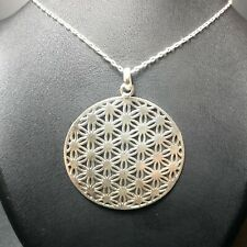 Ottoman Türk Daisy Necklace (925 Sterling Silver) pendant + chain Gift for her