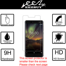 Premium Real Tempered Glass Screen Protector Cover Film Guard For Nokia 6.1