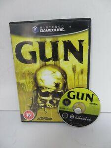 GUN - NINTENDO GAMECUBE PAL GAME W/ BOX (RDB2)