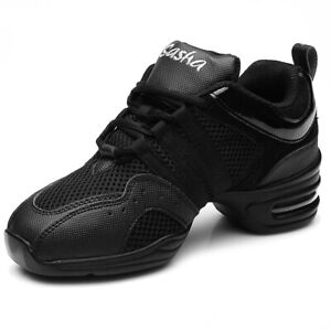 Women's Air Cushion Athletic Dance Sneakers Jazz Hip Hop Shoes Walking Running