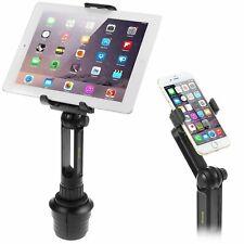 Einstellbare Schaukel Cup Mount Car Kit für iPad iPhone Samsung Tablet Smartphone