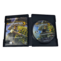 Uncharted 3: Drake's Deception - Game of the Year Edition (PS3, 2012) Disk Only