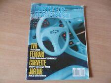 (BURET3)  REVUE AUTOMOBILE  DRIVER MAGAZINE N° 4  1988