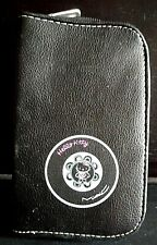 """Rare-MAC Hello Kitty Zippered Black Case for Makeup Brushes--6.5"""" x 4"""" x 1"""""""