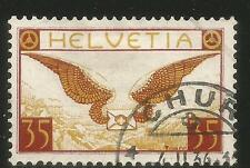 Switzerland 1933-35 35c Airmail--Attractive Topical (C13a) fine used