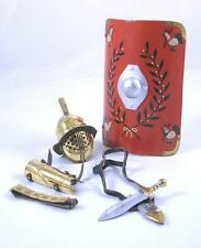 Elite Brigade by Cotswold Battle-Damaged Gladiator Myrmillo Kit (Brass) ARM-75
