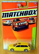 Matchbox Audi RS6 Avant Wagon [Yellow] Quattro - New/Sealed/RARE