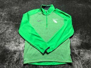 Nike Golf North Texas Men's Green 1/4 Zip Up Lightweight Jacket Size S Small