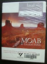 MOAB BY LEGION PAPER LASAL EXHIBITION LUSTER 300 5X7 SINGLE SIDED 50 QTY NEW