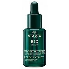 Nuxe Bio Organic Huile Nuit Fondamentale Nutri-Régénérante Oléo-Extrait de Riz 3
