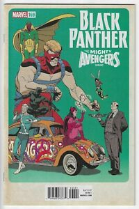 BLACK PANTHER #169 ~ AVENGERS VARIANT ~ NM/MINT 9.8 : SEND THIS BOOK TO CGC!