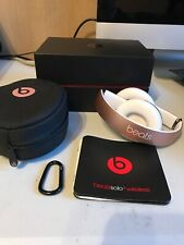 Beats by Dr. Dre Solo3 Wireless On-Ear Headphones - Rose Gold Special Edition