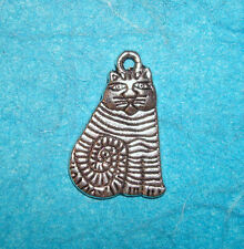 Pendant Cat Charm Calico Cat Charm Feline Pussy Cat Charm Kitten Charm Animal