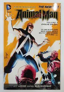 Animal Man - EVOLVE OR DIE Vol. 5 - Jeff Lemire - Graphic Novel TPB - DC