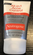 Neutrogena All-in-1 Acne Control Daily Scrub 4.20 oz Exp 12/2021