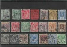 Malaya Straits Settlements Queen Victoria To King George V Small Used Collection