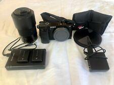Sony Alpha A6000 24.3MP Digital Camera - Black with extras