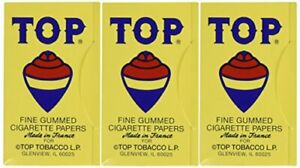 Top Cigarette Rolling Papers, 3 packs