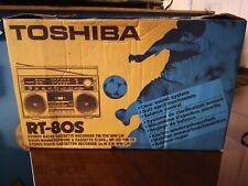 A Retro Toshiba 1980's - RT 80S Ghetto Blaster