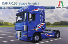 ITALERI 1:24 KIT TRUCK CAMION DAF XF105 SPACE AMERICA LUNGHEZZA 24,5 CM    3933