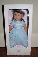 "Nib Pottery Barn Kids Winter Princess Marnie Gotz 18"" doll brown hair eyes"