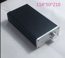 New Aluminum case for small power amplifier preamp chassis 114*50*210