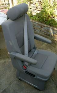 VW Captains Swivel Seat ~ T5 T6 Multivan Caravelle ~ rear single seat