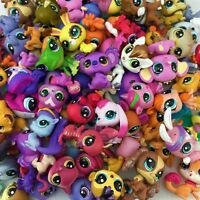 "random 30pcs/set Original LPS Littlest Pet Shop Animal 2"" Figure Baby Girl Toy"