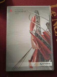 Autodesk Autocad LT 2015 Windows DVD New