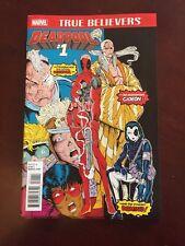 Zbox Exclusive Deadpool #1 Comic