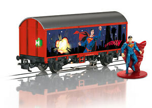Märklin Démarrer Up - Wagon de Marchandise Couvert Superman H0 (1:87), 44825