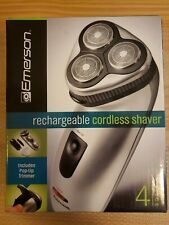 *Brand New* EMERSON Rechargeable Cordless Shaver with Pop-Up Trimmer