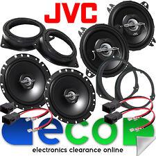 Vauxhall Corsa D 2006-14 JVC 1020 Watts Front Door & Rear Side Car Speaker Kit