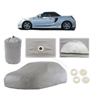Fits Toyota MR2 Spyder 5 Layer Car Cover Fit Outdoor Water Proof Rain Snow Sun
