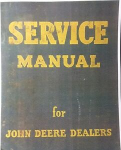 John Deere 720 Diesel Tractor Master Repair Service & Parts Manual Two-Cylinder
