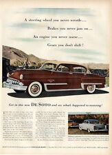 1953 DeSoto PRINT AD Great detailed