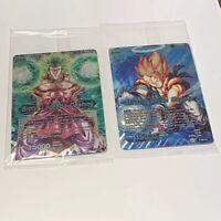 Broly Dragon Ball Z Gogeta Movie Promo Trading Cards 5 Set P-068 P-069 PR NEW