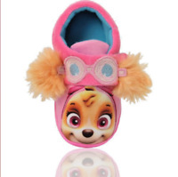Girls Paw Patrol Sierra Soft Warm Slipper Size 5 To 10 New In Bag Genuine